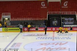 Panthers hit Finnish ice