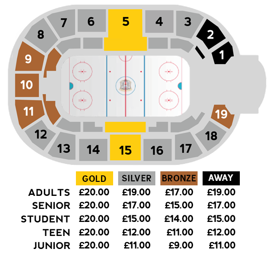 Venue & Ticket Info (seating diagram)