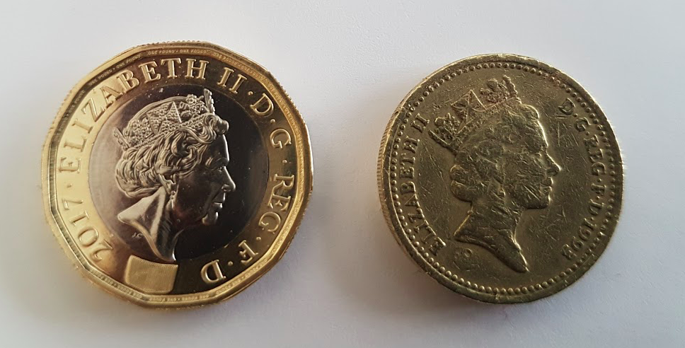 Cut off for old style Pound coins at Panthers games Top Image