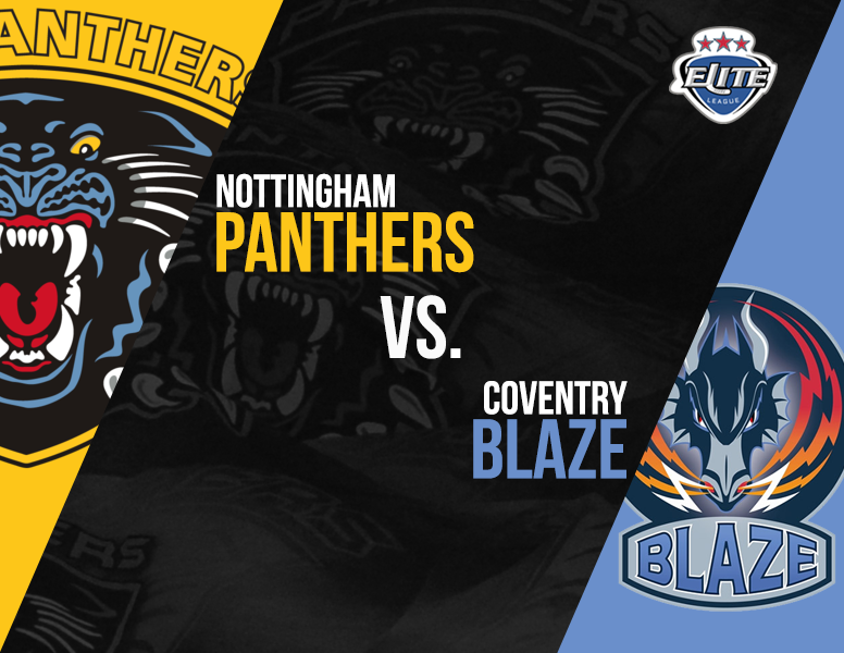 EIHL Begins today- Panthers vs Blaze Top Image