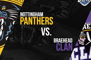 Panthers versus Braehead Saturday 7pm